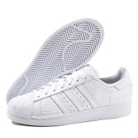 Adidas阿迪达斯三叶草男鞋女鞋板鞋贝壳头SUPERSTAR运动鞋AQ8334