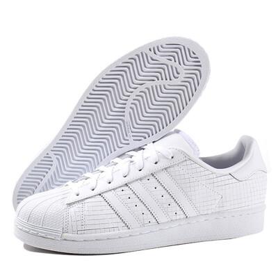adidas板鞋 Adidas阿迪达斯三叶草男鞋女鞋板鞋贝壳头SUPERSTAR运动鞋