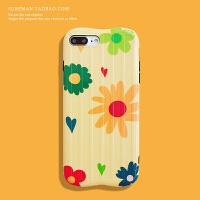 日韩文艺iPhone6s plus手机壳苹果 max软壳xr女款创意保护套7/8