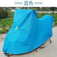 踏板摩托车车衣车罩小电动车电瓶车防水防晒防雨罩加厚盖雨布125