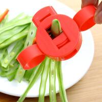 新品 家用厨房用品切菜豆角蔬菜切丝器擦刨丝神器创意厨具做饭小工具 红色