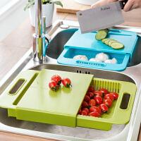 创意厨房水果切菜板砧板案板加厚塑料切肉板分类辅食板菜板水果板