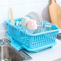 厨房用品塑料沥水碗架置物架放碗碟的架子碗柜沥水架收纳架储物架