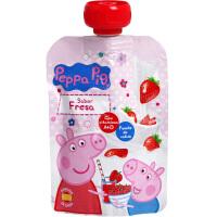 小猪佩奇peppapig草莓味酸奶宝宝常温乳饮料儿童营养进口含乳饮品