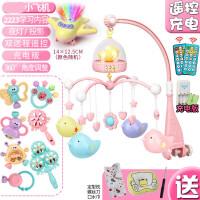?婴儿床铃宝宝音乐旋转摇铃新生儿床挂床头玩具3-6个月0-1岁12?