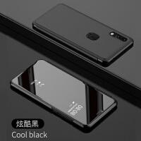 优品华为nova4翻盖手机壳智能镜面VCE-AL00防摔皮套商务男款全包保护