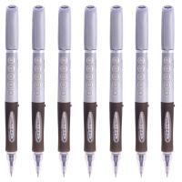 晨光大容量中性笔GP1530办公签字笔黑色0.5水笔学生考试书写文具