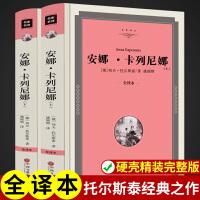 安娜卡列尼娜(上下册) 正版全译本托尔斯泰的书安娜卡列尼娜安娜卡列尼娜精装中文版托尔斯泰小说世界名著书籍