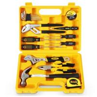 得力 (deli) 3701 组合工具箱/工具套装 16件套