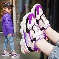 童鞋2019秋季新款儿童运动鞋透气男童跑步鞋女童休闲鞋子