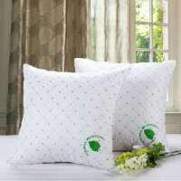 昭辰家纺+沙发靠垫+抱枕+靠枕+十字绣+方枕芯+单只装+白色+45x45cm