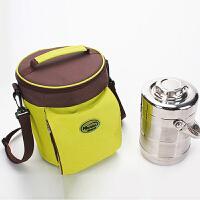 冰袋保鲜冷藏便携式上班保温袋加厚手提冷饭盒袋防水防油圆形