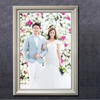 家居生活用品24寸36欧式影楼婚纱照洗照片加相框挂墙创意16结婚50福20