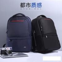 休闲商务电脑包旅行包 新款校园潮高中学生书包 韩版双肩包男 男士背包