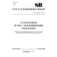NB/T 31048.2―2014 风力发电机用绕组线 第2部分:240级芳族聚酰亚胺薄膜绕包烧结铜扁线