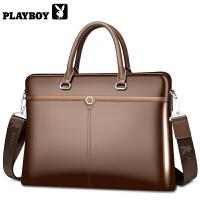 男包手提包单肩休闲包男包男士手提包包横款包公文包