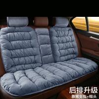 汽车坐垫冬季毛绒加厚保暖防滑通用短毛绒冬天车座垫套网红垫子