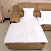 欧式真皮沙发防滑垫定做毛绒沙发垫防滑欧式加厚仿兔毛绒组合贵妃坐垫冬季真皮沙发垫