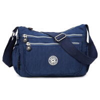 新款牛津布斜挎包包防水尼龙包休闲单肩跨包布包女士潮流帆布包