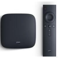 小米盒子3S 智能网络电视机顶盒 4K电视 H.265硬解 安卓网络盒子 高清网络播放器 HDR 黑色
