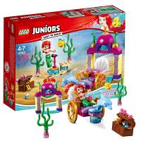 当当自营 乐高LEGO小拼砌师Juniors系列10765爱丽儿公主的海底音乐会