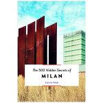 【500个隐藏秘密旅行指南】Milan,米兰 英文原版旅游攻略