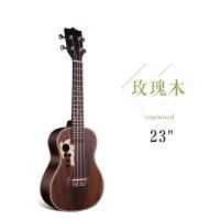 2017手工23寸尤克里里21寸乌克丽丽初 学者吉他ukulele乐器