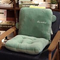 连体坐垫女学生垫子椅子座垫宿舍座椅凳子办公室靠垫一体