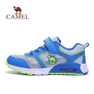 骆驼童鞋儿童气垫运动鞋网鞋男女童透气网眼休闲鞋