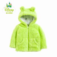 迪士尼Disney 男女童外套春秋保暖儿童外套连帽上衣外出服153S705