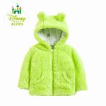 迪士尼 男女童外套春秋保暖儿童外套连帽上衣外出服153S705