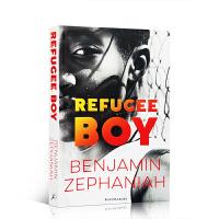 【全店300减100】英文原版 Refugee Boy难民男孩 泰晤士报评选作家 青少年成长小说 学生课外阅读书籍进口正