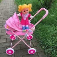 娃娃儿童玩具推车婴儿小推车宝宝手推车学步男女孩过家家