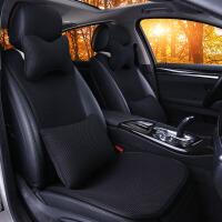 汽车坐垫夏季座垫四季通用新款单个片无靠背免绑防滑简洁布艺用品SN4011