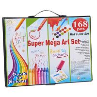 水彩笔套装画笔儿童绘画套盒幼儿园美术可水洗彩笔小学生涂色画画