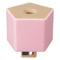 旗牌(Shachihata)ZKC-G2/H创意环保型 瓶盖式卷笔刀削笔器 五角 粉色当当自营
