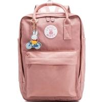 米菲韩版双肩包女书包学院2018新款高中学生校园旅行背包帆布包包