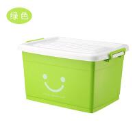 收纳箱塑料整理箱收纳箱特大号有盖储物箱衣服收纳盒塑料箱储物箱