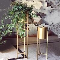 北欧铁艺花架简约现代室内落地金属花盆架创意绿萝阳台多肉盆栽架