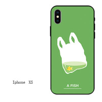 iphone7苹果6s手机壳6plus硅胶8x软壳5s情侣xr潮男女款xs max创意