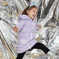 【1件3折价:239.7,可叠券】moomoo童装女童羽绒服冬季中大童潮流蓄热羽绒服