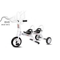 儿童双人三轮车双胞胎脚踏幼儿童车2-3-4-6岁男女宝宝双人自行车