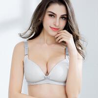孕妇内衣纯棉怀孕期胸罩舒适无钢圈孕期全棉中期胸衣哺乳文胸6032