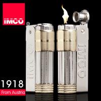 IMCO 爱酷品牌 金属煤油防风打火机 时尚复古礼品火机 LOGO麻点全套仿金