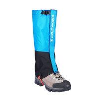 户外男女登山防水防雪鞋套徒步加长防沙儿童滑雪护腿脚套雪套
