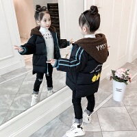 女童棉衣2018新款冬季韩版潮衣儿童时尚加厚棉袄宝宝洋气时髦外套