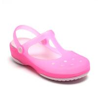 卡洛驰Crocs女鞋洞洞鞋变色玛丽珍沙滩鞋女凉鞋专柜正品12629