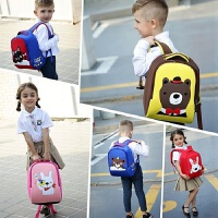 男女中大班男生男孩双肩背包男童宝宝儿童书包幼儿园书包3-5-6岁