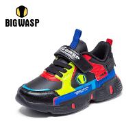 【1件5折价:109元】大黄蜂童鞋2020秋季男童运动鞋中大童男孩防滑休闲潮儿童鞋子