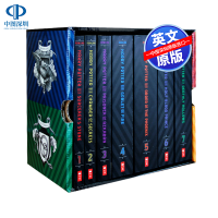 现货 英文原版 哈利波特 美版20周年版 1-7册全集套装 科幻小说Harry Potter JK罗琳 布莱恩瑟兹尼克